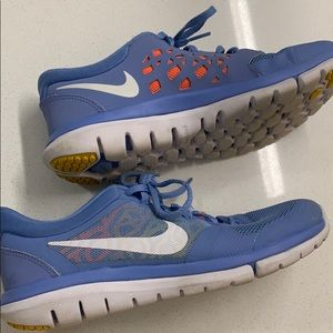 Nike Flex 2015 Run Running Sneakers US W7